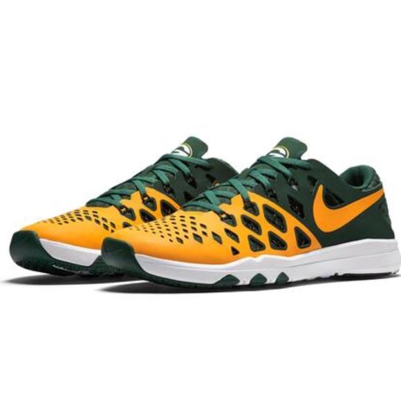 promo code 9b451 95b07 NFL Speed Train 4 Packers Shoes Green Bay Nike IWDHE29